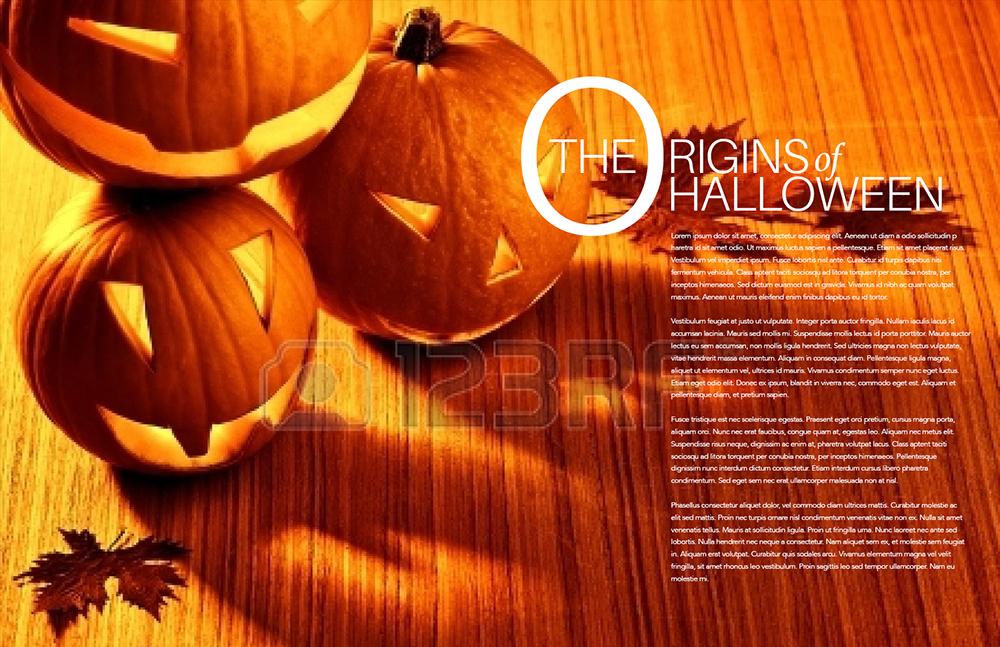 Assignment Twenty Five: Origins of Halloween Double Truck ...